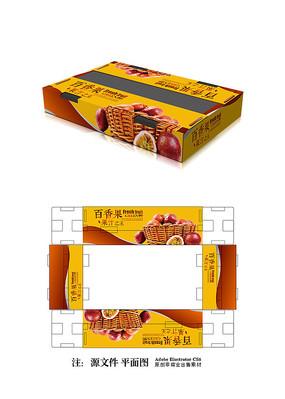 百香果包装设计