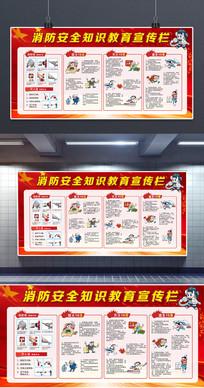 大气消防安全知识教育宣传栏