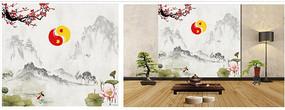 中国文化背景墙