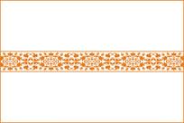 中式典雅花纹移门图案