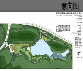 湿地公园平面图