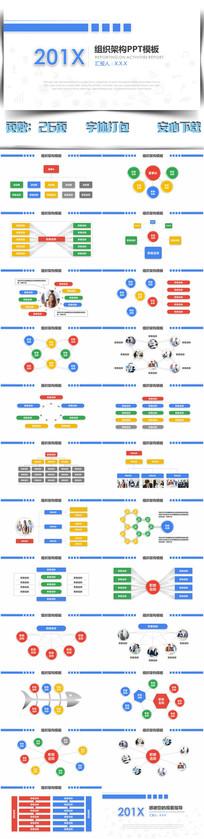 微粒体公司组织架构图PPT
