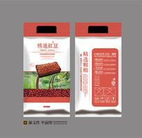 红豆杂粮包装设计