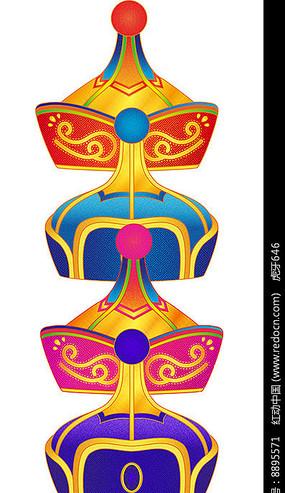 蒙古族花纹