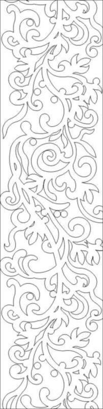 冰雕花纹雕刻图案