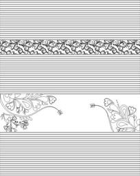 推拉门花纹雕刻图案