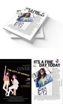 杂志周刊封面设计