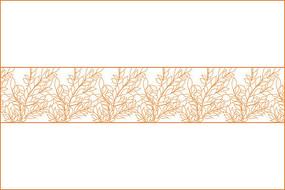 树矢量花纹底纹