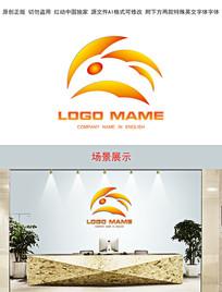 餐饮企业动物形象logo设计
