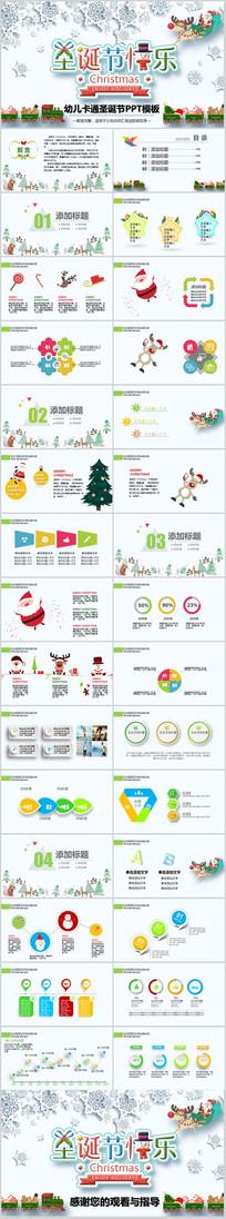 欢快圣诞节活动庆典策划PPT