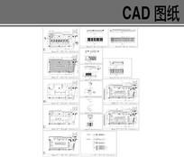 现中式风格火锅餐厅全套施工图