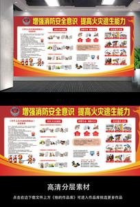 消防安全意识教育宣传栏