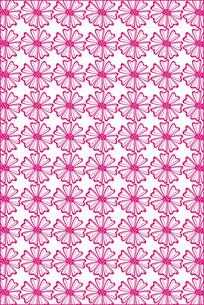 线描花瓣底纹图案