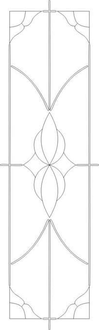 抽象图线条图雕刻图案