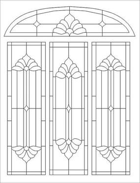 教堂矢量图