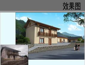 乡村保留建筑风貌整治效果
