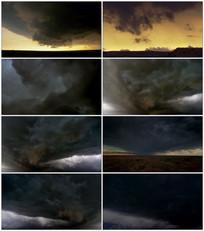 延时天气变化天空云彩视频素材