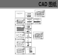 现代中式风格火锅餐厅设计图