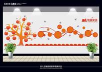校园教室走廊文化墙