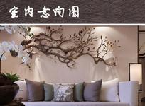 客厅背景墙面装饰
