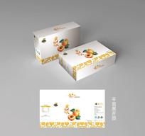 黃桃包裝盒禮盒設計