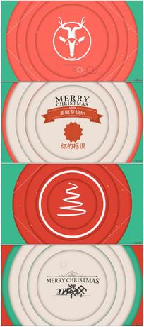 MG动感卡通圣诞节展示模板