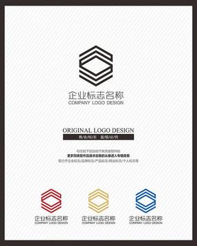 建筑空间设计家装公司标志