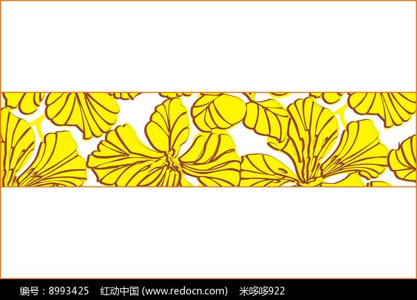 古典花纹移门图案图片