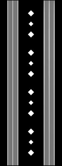 菱形线条图雕刻图案