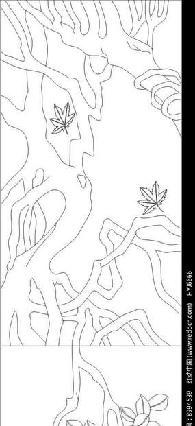 树根雕刻图案