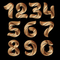 数字特效字体设计