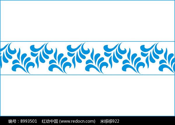 中式典雅花纹移门图案图片