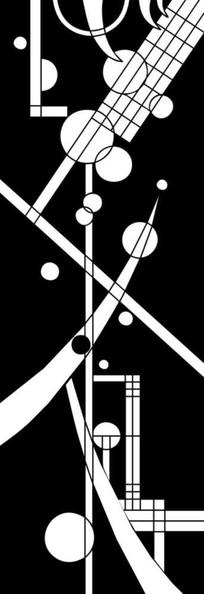 几何图形雕刻图案