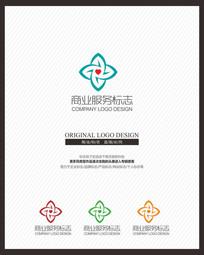 医院医疗公益服务品牌标志设计
