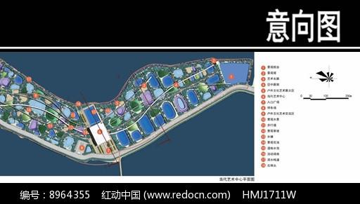 某华侨城当代艺术中心平面图图片