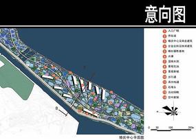 某华侨城婚庆中心平面图