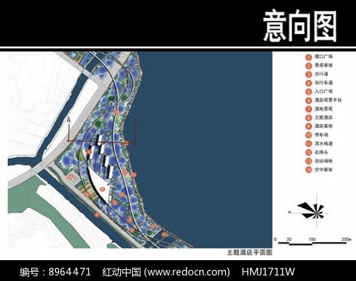 某华侨城主题酒店平面图图片