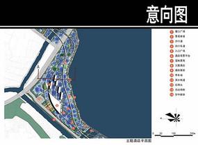 某华侨城主题酒店平面图