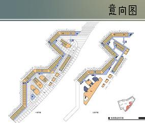 商业街平面图