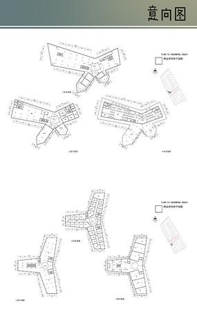 商业建筑平面图