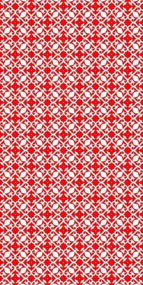 创意红花纹理图案