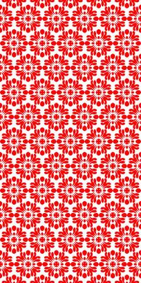 大红花纹理图案