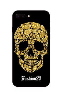 黄金骷髅头手机壳图案