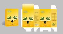 橄榄油包装展开图设计