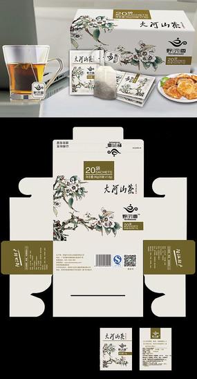沉香茶包装设计