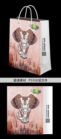 创意泰国旅游纪念宣传手提袋