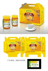 蜂蜜食品包裝設計