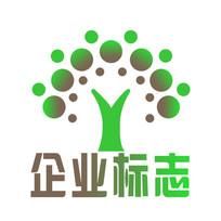 树木标志设计PSD模板下载