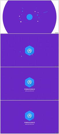 扁平化简单图形Logo动画视频