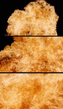爆炸火焰特写视频素材